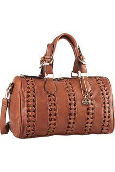 Big Buddha Toleda Duffle Style Bag With Shoulder Strap