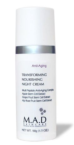 M.A.D Skincare Anti-Aging Transforming Nourishing Night Cream * You can get more details by clicking on the image. (This is an affiliate link and I receive a commission for the sales)