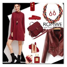 """""""Romwe #9/1"""" by soofficial87 ❤ liked on Polyvore featuring Lacoste, The Cambridge Satchel Company, Bella Bellissima and Henri Bendel"""
