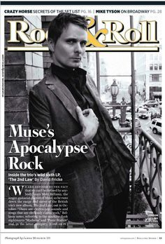Entrevista a Matt Bellamy Rolling Stone USA - 30 August