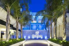 Outdoor: The entrance to the SHA Wellness Clinic in Alicante, Spain Wellness Clinic, Wellness Spa, Best Spa, Medical Spa, Travel Deals, Travel Destinations, Travel Tips, Hotel Spa, Spain Travel