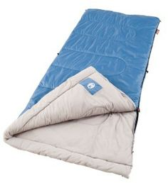 Sleep comfortably, even when it's F outside in the Coleman Trinidad Warm-Weather Camping Sleeping Bag. The warm weather sleeping bag fits Hiking Sleeping Bags, Best Sleeping Bag, Camping Checklist Family, Camping Essentials, Family Camping, Dorm Checklist, College Essentials, Room Essentials, Tent Camping