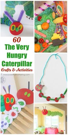 60+ Play Ideas Based On The Very Hungry Caterpillar Book By Eric Carle!