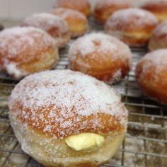 Donuts with Vanilla Custard Filling