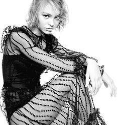 Lily Rose-Depp for Vanity Fair 2016