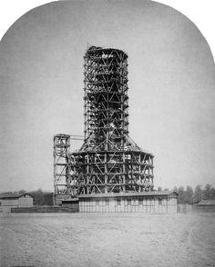 Berlin | Siegessäule. Bau der Siegessäule, 1873