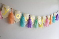 You're Cool Banner Tassel Garland Birthday Banner Funny Banner Pastel Word Banner Custom Banner Gold Banner, Banner Letters, Diy Banner, Banner Ideas, Diy Birthday Banner, Diy Birthday Decorations, Birthday Invitations, Diy Tassel Garland, Shower Banners
