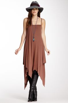 Ribbed Luci Dress on HauteLook, wouldn't wear this with boots and no jacket! AS