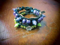 My sweeties! freshwaterpearl wrap bracelets! by So cliché jewelry  https://www.facebook.com/soclichejewelry