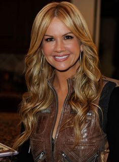 Hair Nancy O'Dell Long, Curly, Romantic, Blonde Hairstyle