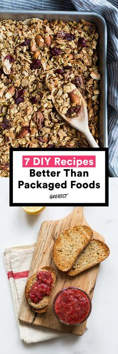 OK, not all packaged foods, but at least give your vending machine a break. #greatist http://greatist.com/eat/homemade-versions-of-packaged-foods