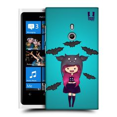HEAD-CASE-DESIGNS-SPOOKY-BEANIES-CASE-COVER-FOR-NOKIA-LUMIA-800