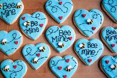 Bee Mine Cookies