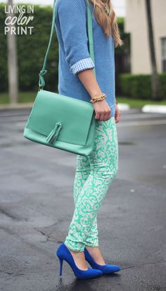 LOVE this color combo!
