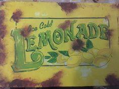 Vintage Lemonade Paint
