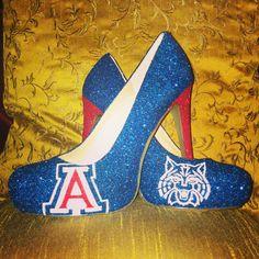 Www.etsy.com/shop/ceriseisabellamarie University of Arizona heels