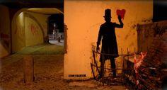 vintage blackboard: La street art che mi piace: Kenny Random