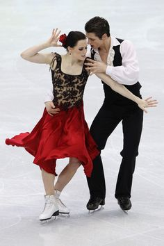 Tessa Virtue - Ice Dancing costume inspiration for Sk8 Gr8 Designs