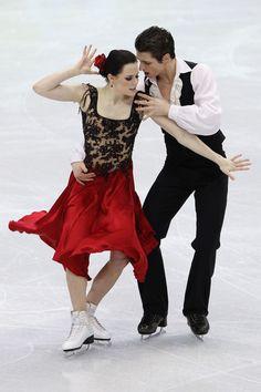 Tessa Virtue - Ice Dancing costume inspiration for Sk8 Gr8 Designs