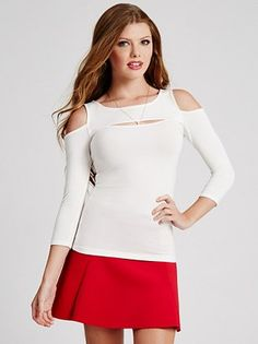 dressy knit top-in a half sleeve?