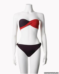 No-sew DIY swimsuit. Not sure how well this would actually work, but the picture certainly makes it look nice.