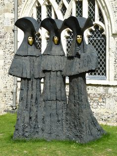 Philip Jackson sculptures at Chichester Cathedral