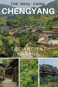 Before we had stepped foot in China we had visions of big cities like Shanghai and Beijing, smog, traffic and litter........ until we found this Chengyang. A beautiful ancient village in China. Don't miss Chengyang off your list of places to visit in China.   #travelchina #backpackingchina #ancientvillagechina