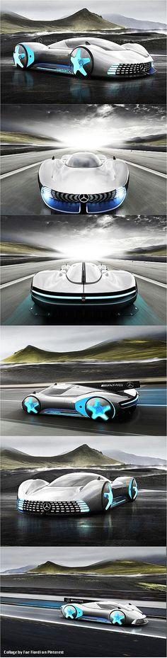 ✨  Mercedes-AMG GT Future - Mercedes Hypercar AMG Project One Concept by Designer Alexander Imnadze. Auf den ersten Blick erinnert die Studie an eine moderne Interpretation der legendären Gruppe-C-Rennwagen von Mercedes. © Alexander Imnadze