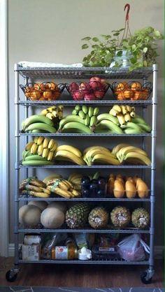 Fresh fruits and veggies. Vegan Life, Healthy Life, Healthy Snacks, Healthy Eating, Fruit And Veg, Fruits And Veggies, Raw Vegan Recipes, Healthy Recipes, Healthy Fridge