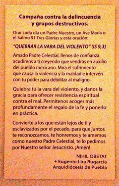 Quebrar la vara del violento | Mons. Eugenio Lira Rugarcia