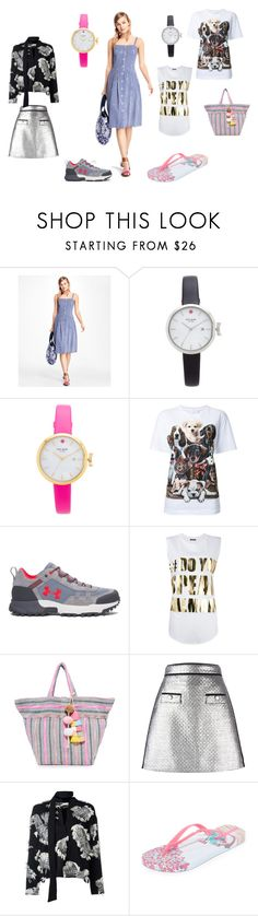 """""""Fashion league"""" by emmamegan-5678 ❤ liked on Polyvore featuring Brooks Brothers, Kate Spade, WALL, Under Armour, Balmain, JADEtribe, MSGM, Chloé, IPANEMA and vintage"""