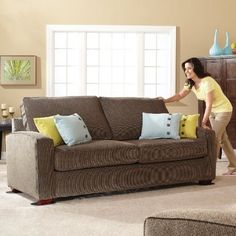 SuperSliders Reusable Furniture Sliders for Carpet- Quickly and Easily Move Any Item, Linen Pack) Moving Furniture, Furniture Movers, Cool Furniture, Sleeper Sofa, Sectional Sofa, Super Sliders, Moving Kit, Twin Daybed With Trundle, Carpet Flooring