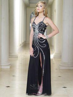 Sean Collection 50741 Black Prom Dress