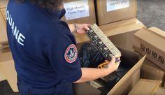 Saisie de 9 tonnes de cigarettes de contrebande à La Réunion