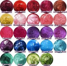 Look at ALL the colors and only $4.75 each -- use code 5000FANS for 25% off orders over $25 through 8/19 $4.7