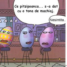Wordless Wednesday: 15 Hilarious Easter Cartoons Funny cartoons for Easter to make you laugh out loud. Funny Easter Eggs, Easter Jokes, Easter Cartoons, Hoppy Easter, Funny Cartoons, Easter Stuff, Cartoon Humor, Funny Posters, Somebunny Loves You