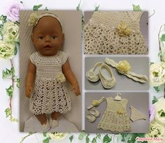 Renovochki dla Bonechki - Szafa dla lalek - Country of Moms Girls Dresses, Flower Girl Dresses, Summer Dresses, Baby Born, Country, Wedding Dresses, Fashion, Bride Gowns, Wedding Gowns