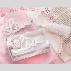 """""""All My Love"""" Bookmark with Tassel"""