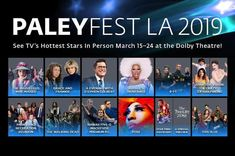 """Sparkle """"E"""" is on the scene…at PaleyFest 2019 – Sparkle """"E"""" on the Scene!"""