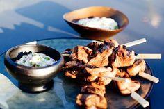 Recepten - Allerhande - Albert Heijn Chicken Recipes, Bbq, Meat, Finger Food, Barbecue, Barbecue Pit