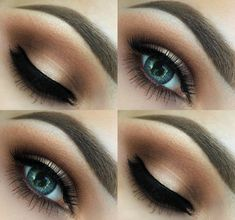 Day time warm/neutral smokey eye / Makeup inspiration <3 Follow on insta: Makeupbyalinna