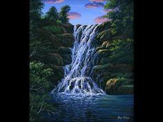 bob ross pinturas paisajes - Buscar con Google