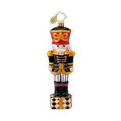 Golden Radko Classic Nutcracker Ornament - Ornament Reviews