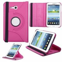 """5 Colors 360 Rotating PU Leather Stand Case Cover For Samsung Galaxy Tab 3 Lite 7.0"""" T110 Tablets Cases"""