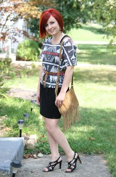 Thrift and Shout blog in a totally thrifted outfit! see more at http://thriftandshout.blogspot.com