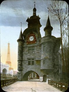 Paris Exposition: Vieux Paris (Old Paris), Paris, France, 1900