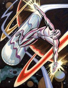 Silver Surfer by Steve Rude
