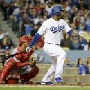Dodgers cut ties with underperforming Carl Crawford (Yahoo Sports) Dodgers, Ties, Baseball Cards, Sports, Tie Dye Outfits, Hs Sports, Neck Ties, Sport, Tie