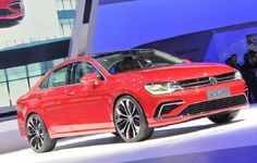 VW Concept Sport Saloon On MQB-B Platform Made Its Debut In Beijing Auto Show 2014 For more details visit http://www.carengines.co.uk/blog/