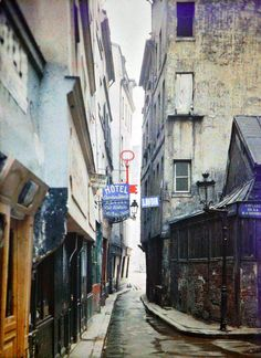 Rue de Venise / Impasse de la Baudroire | PARIS 1914